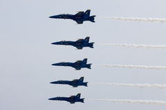 US Navy Blue Angels Royalty Free Stock Photo