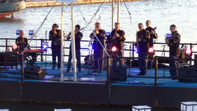 US Navy Ceremonial Band stock video