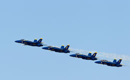 US Navy Demonstration Squadron Blue angels Stock Images