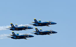 US Navy Demonstration Squadron Blue angels Royalty Free Stock Images