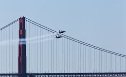 US Navy Demonstration Squadron Blue angels Stock Photography