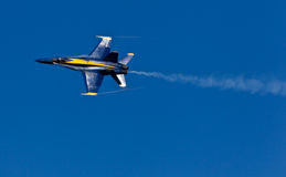 US Navy Demonstration Squadron Blue angels Royalty Free Stock Photo