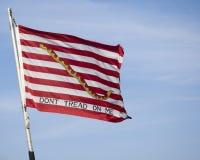 US Navy Jack Flag Stock Image