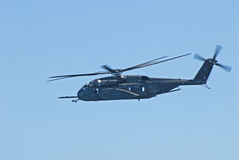 US Navy Sea Knight helicopter Royalty Free Stock Photography