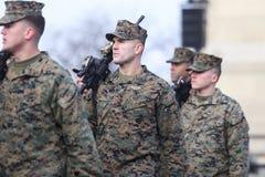 US Navy soldater arkivbilder