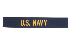 US NAVY uniform badge Stock Photography