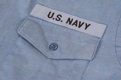 Us navy uniform Royalty Free Stock Photography