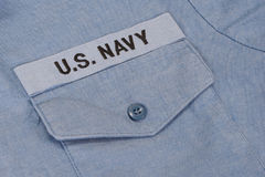 Us navy uniform Stock Photo