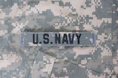 Us navy uniform Royalty Free Stock Photos