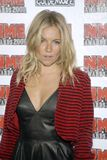 US NME Awards. Sienna Miller at the US NME Music Awards at the El Rey Theatre in Los Angeles Stock Photo