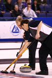US Olympic Curling Trials Stock Image