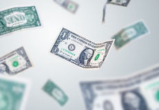 US one dollar Royalty Free Stock Images
