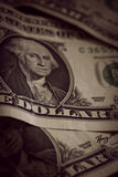 US One Dollar Notes Stock Image