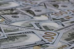 US One Hundred Dollar Banknotes Royalty Free Stock Images