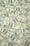 US one hundred dollar bills. Background Royalty Free Stock Photos