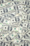 US one hundred dollar bills Stock Image