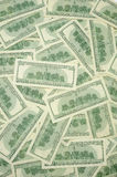 US one hundred dollar bills Stock Images