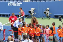 US Open 2014 Royaltyfri Bild