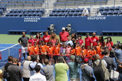 US Open 2014 Royaltyfria Bilder