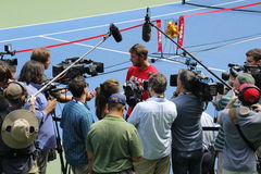 US Open 2014 Arkivbilder