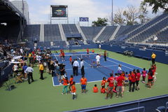 US Open 2014 Royaltyfria Foton