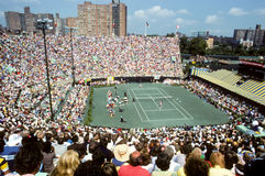 US Open 1977 bei Forest Hills Lizenzfreie Stockbilder