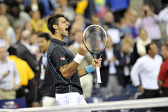 US Open 2013 (401) de Djokovic Photos stock