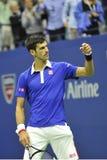 US Open 2015 (11) de Djokovic Novak Images libres de droits