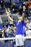 US Open 2015 (12) de Djokovic Novak Images libres de droits