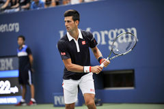 US Open 2015 (58) de Djokovic Novak Image stock