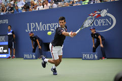 US Open 2015 (52) de Djokovic Novak Photos libres de droits