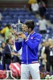 US Open 2015 (18) de Djokovic Novak Photographie stock