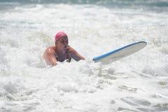 US Open de fourgons Huntington Beach CA LES Etats-Unis en juillet 2016 surfant Photo libre de droits