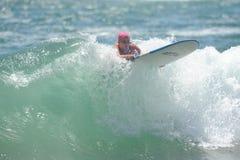 US Open de fourgons Huntington Beach CA LES Etats-Unis en juillet 2016 surfant Photos stock