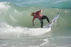 US Open de fourgons Huntington Beach CA LES Etats-Unis en juillet 2016 surfant Images stock