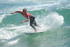 US Open de fourgons Huntington Beach CA LES Etats-Unis en juillet 2016 surfant Image libre de droits