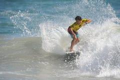 US Open de fourgons Huntington Beach CA LES Etats-Unis en juillet 2016 surfant Images libres de droits