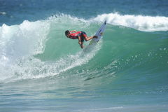 US Open de fourgons Huntington Beach CA LES Etats-Unis en juillet 2016 surfant Image stock