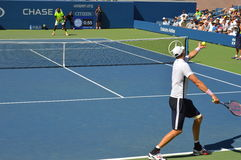US OPEN de John Isner photo libre de droits