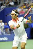 US Open 2015 (56) di Federer Roger (SUI) Immagini Stock Libere da Diritti