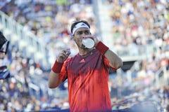 US Open 2015 (90) di Fognini Fabio Fotografia Stock