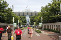 US Open Flushing meadows Stock Images