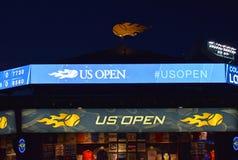 US Open la nuit Photo libre de droits