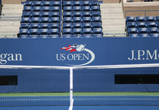 US Open logo przy Arthur Ashe stadium obrazy stock