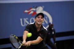 US Open Mannarino Adrian (FRA) 2015 (9) Lizenzfreies Stockbild