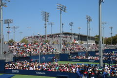 US Open 2017. Opening day at the 2017 US Open tennis grand slam Royalty Free Stock Image
