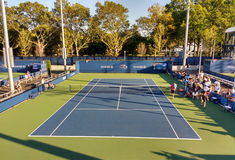 US Open Qualifying Match, Queens, New York, USA Royalty Free Stock Image
