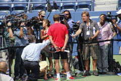 2014 US Open Royalty Free Stock Image