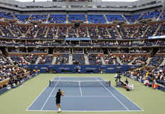 US Open tennis match royalty free stock images