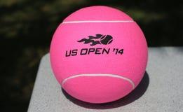 US Open Wilson 2014 tenisowa piłka przy Billie Cajgowego królewiątka tenisa Krajowym centrum Zdjęcie Royalty Free